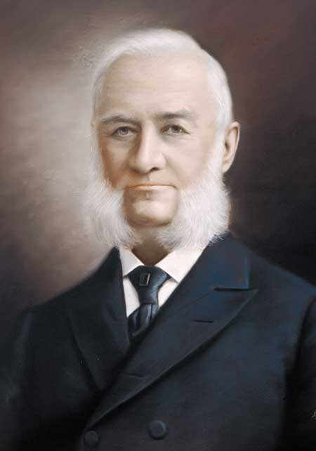 Dr. Charles Huston later in life.