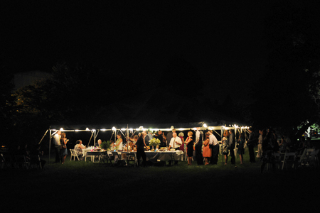 Evening Wedding Reception, A.J. Sullivan Photography