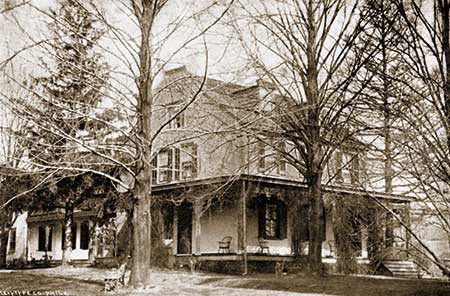 The residence of Abram and Martha Gibbons was across South First Avenue from Terracina. Known for many years as the Martha Gibbons House, it is now the VFW.