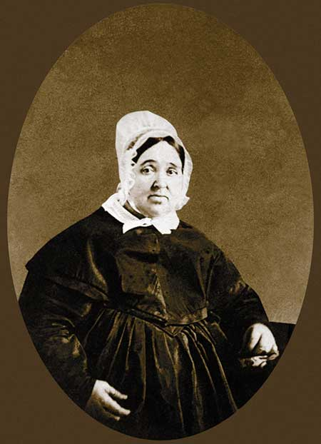 Rebecca Lukens, circa 1849, after Abram Gibbons and Charles Huston joined the family business.