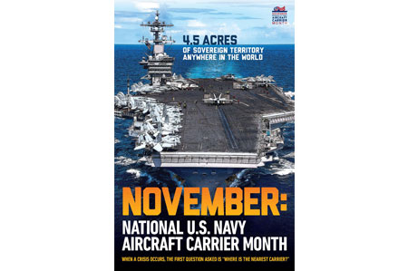 Aircraft    Carrier Month Poster