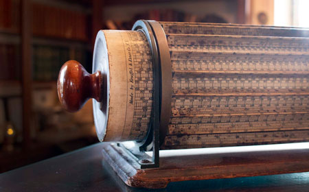 Thacher Cylindrical Slide Rule