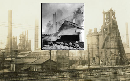 Carrie Furnaces, 1937, Hagley Museum  and Library