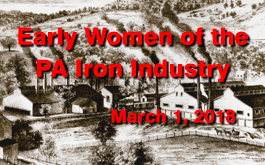 Early Women of the PA Iron Industry