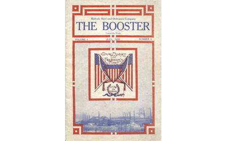 July 1920 Issue of The Booster, From the collection of NISHM