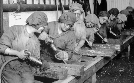 Female Workers During World War I, From the collection of NISHM