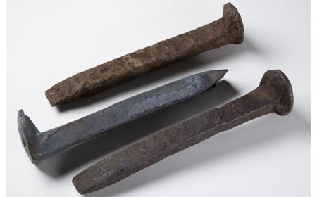 Early Iron Spikes, From the collection of NISHM