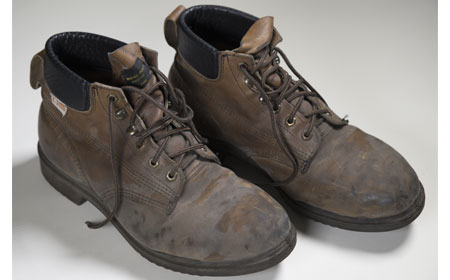 Modern Day Safety Shoes, From the collection of NISHM