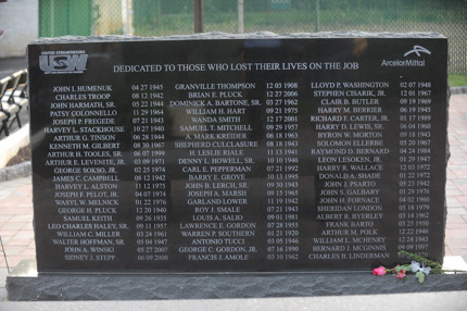 Steelworker's Memorial