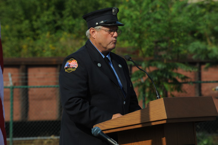 Jim Thompson, New Your City Fire Department 9/11 first responder