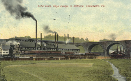 Tube Mill Postcard, From the collection of NISHM