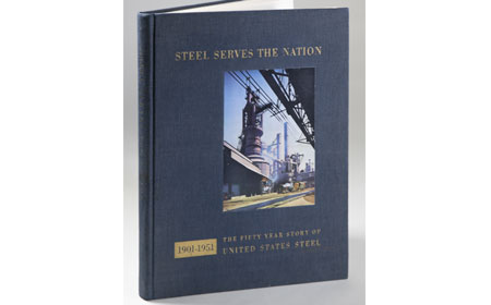 Book: Steel Serves the Nation, From the collection of NISHM